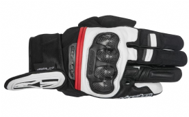 Alpinestars Rage Drystar Glove Black Red white WP